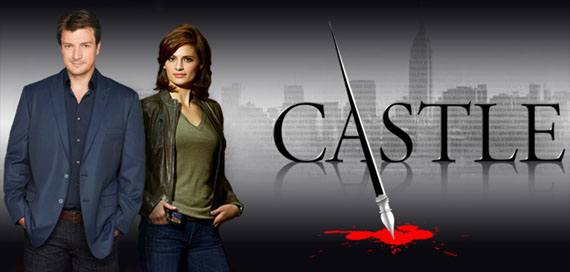 Castle starring Nathan Fillion & Stana Katic.
