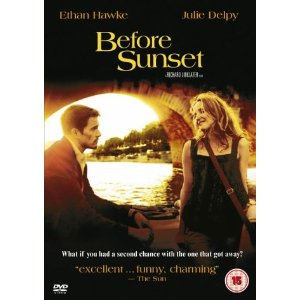 Before Sunset starring Ethan Hawke & Julie Delpy