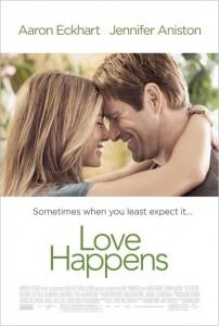 Love Happens starring Jennifer Aniston & Aaron Eckhart