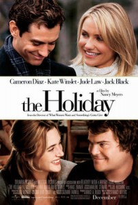 The Holiday starring Jude Law, Cameron Diaz, Kate Winslet & Jack Black. Image via sinepil.org