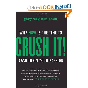 Gary Vaynerchuk, Crush It cover