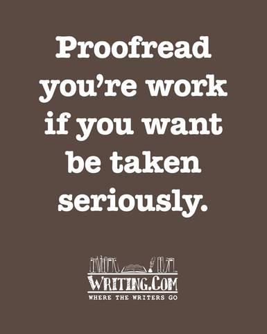 funny writing cartoon, proofreading
