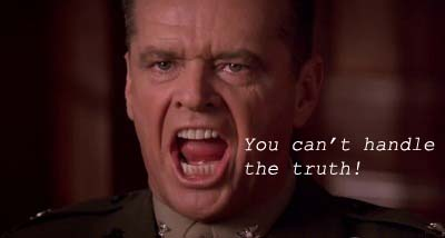jack nicholson, a few good men