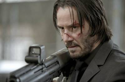 This is John Wick. You wouldn't want to piss him off. Image via teaser-trailer.com.